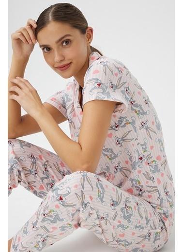 Penti Bugs Pijama Takımı Pembe